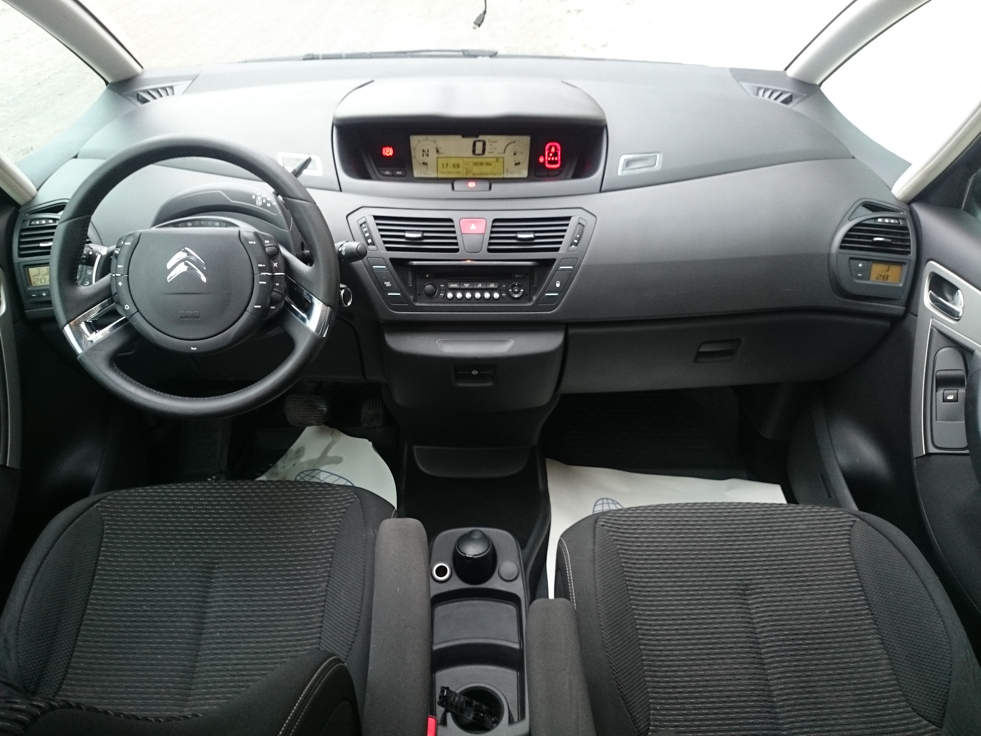 Citroen C4 Picasso I Grand 1.6 AT -009