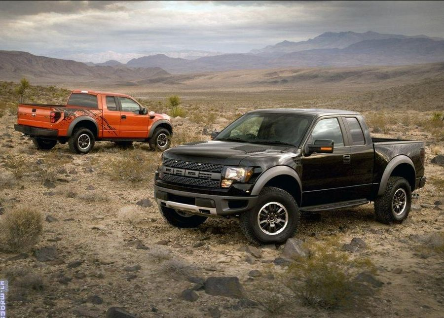 Ford Raptor 2013 год
